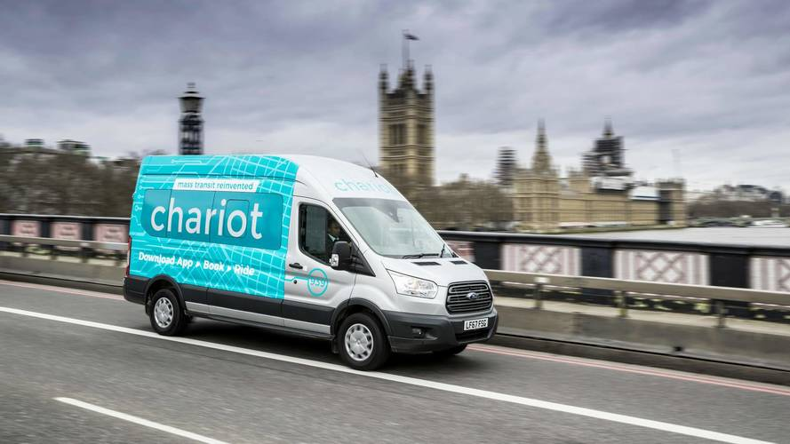 Ford Chariot shuttle service