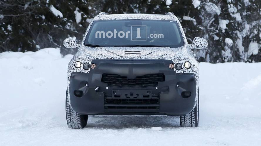 New Opel Mokka X photos espion