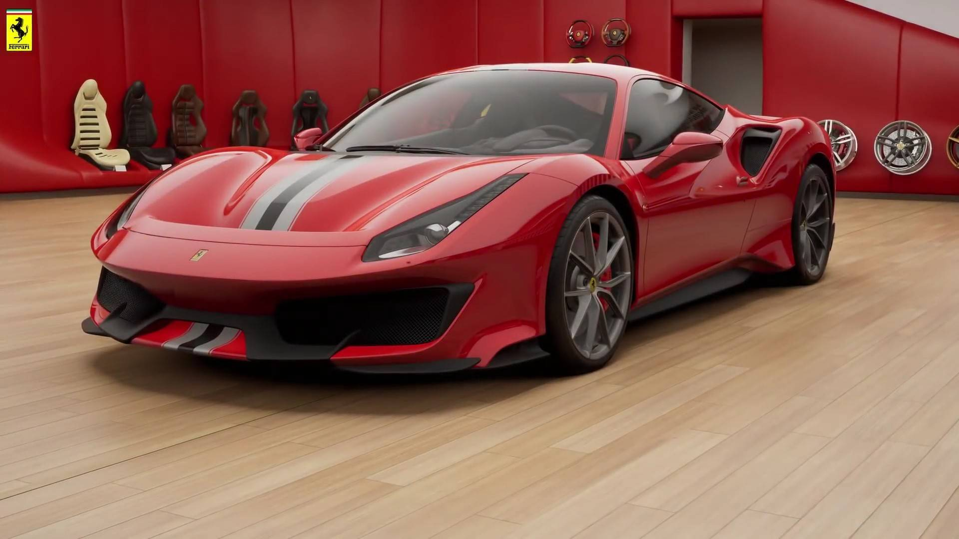 the 488 gtb on steroids is ready to fight. Black Bedroom Furniture Sets. Home Design Ideas