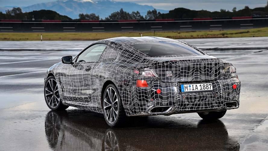 BMW 8 Series Official Teaser Photos