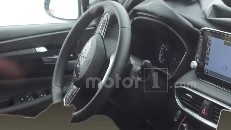 Flagra - Interior do Hyundai Santa Fe 2019