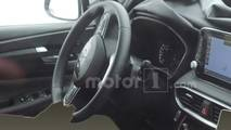 Hyundai Santa Fe Interior Spy Photos