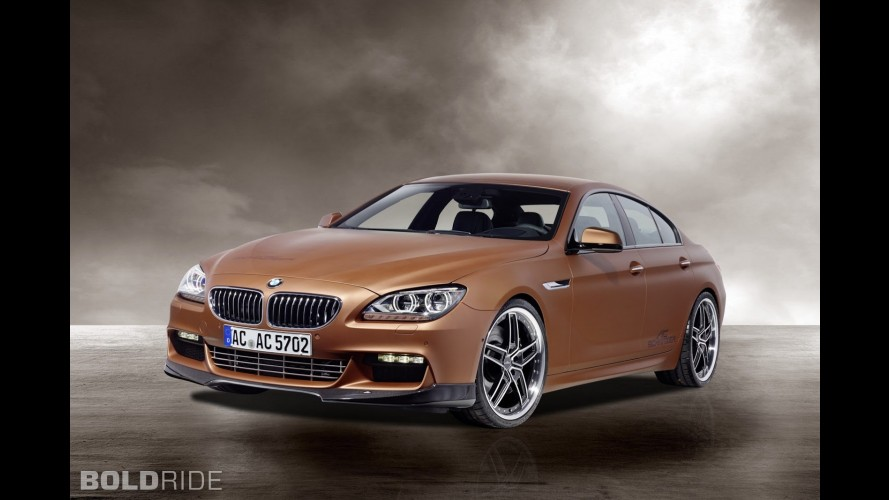 ac schnitzer bmw 6 series gran coupe m sport. Black Bedroom Furniture Sets. Home Design Ideas