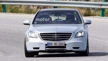 Mercedes S63, S Class casus fotoğrafları