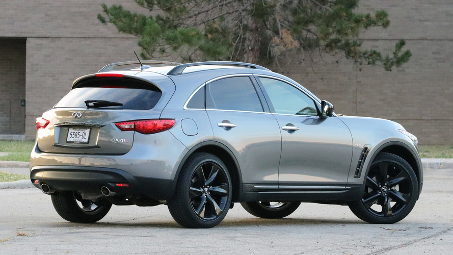 2016 Infiniti QX70: Review