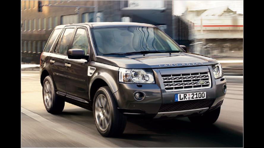 Edles Schnäppchen: Land Rover bringt Freelander XS