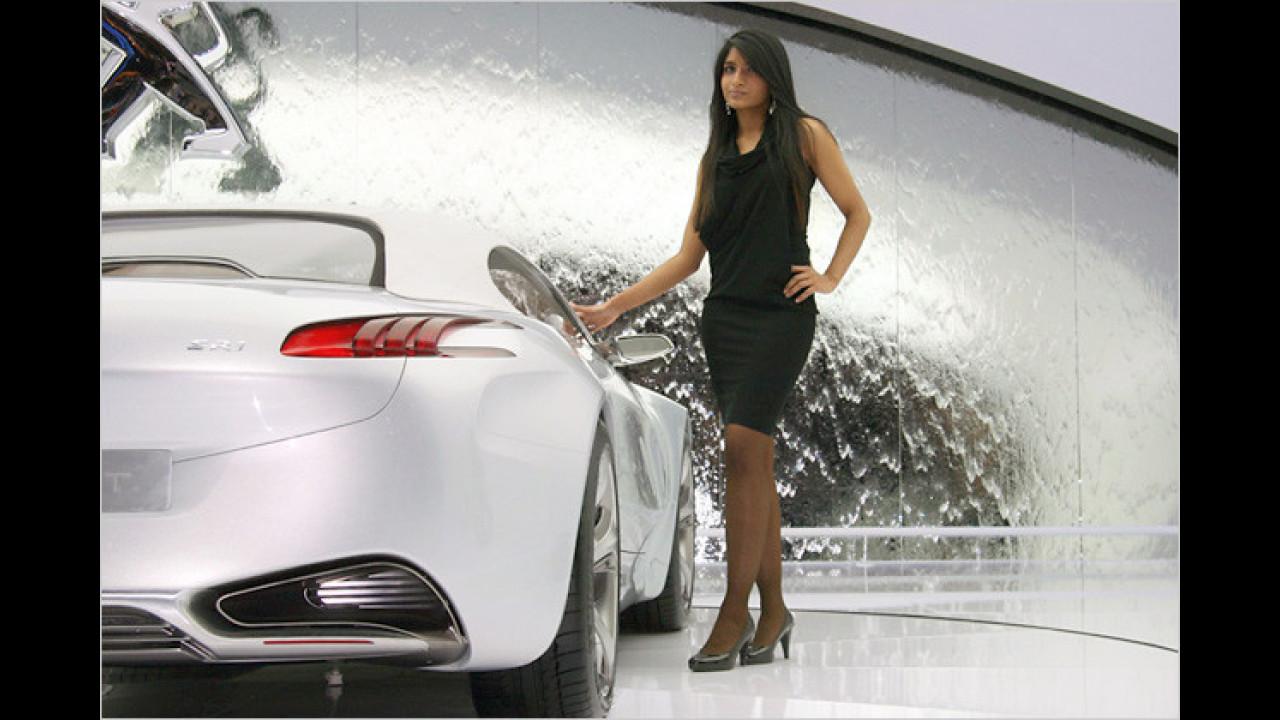 Hatten wir schon erwähnt, dass Peugeot seeeehr Attraktives mitgebracht hat?