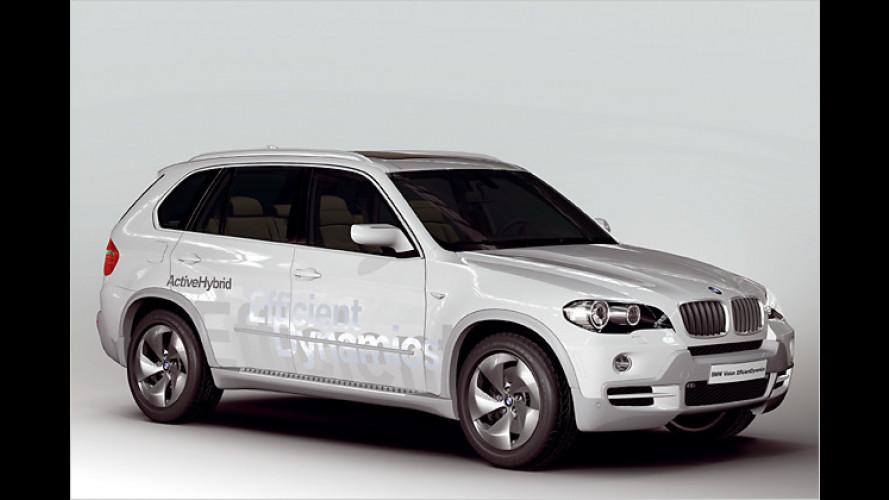 Weltpremiere: Umweltfreundliche BMW-Studie in Genf 2008