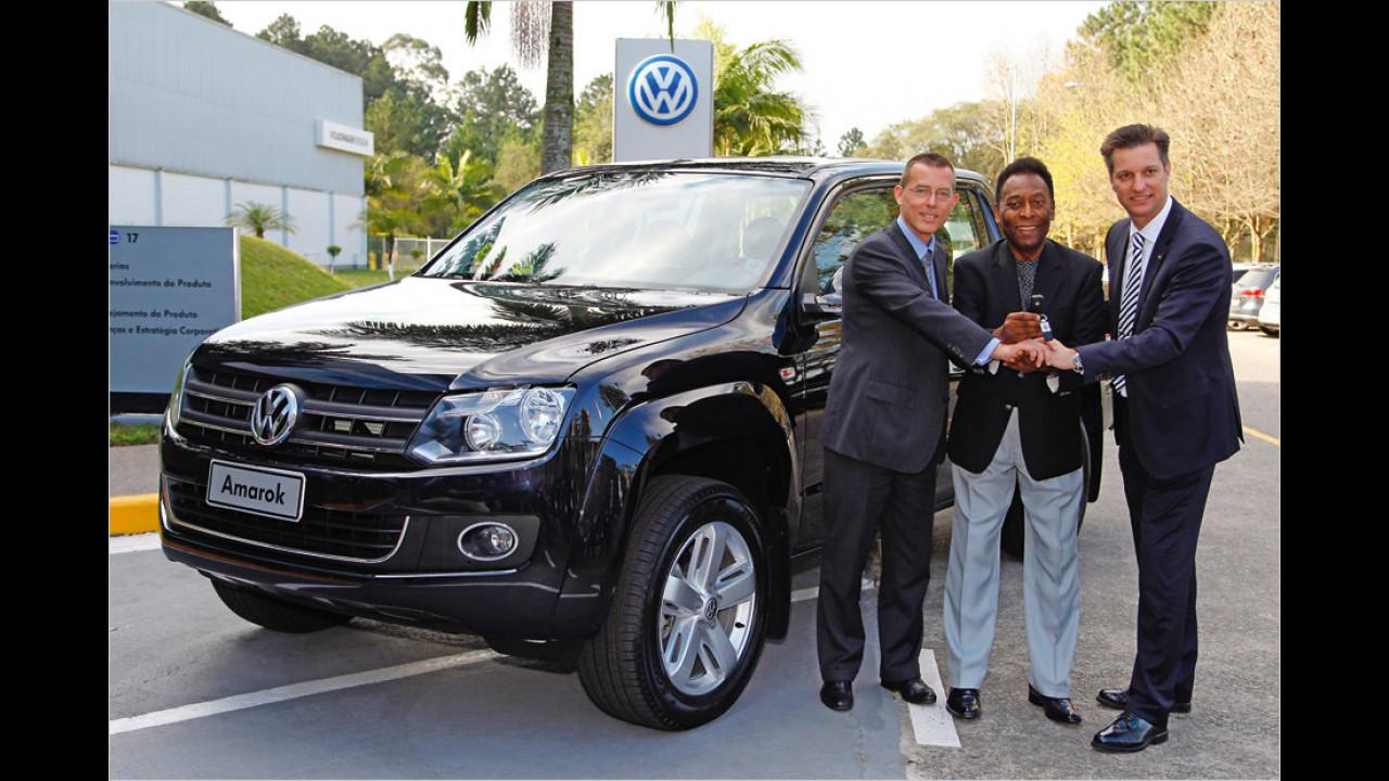 Pelé: Volkswagen Amarok