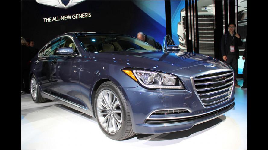 Hyundai Genesis kommt zu uns