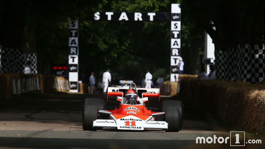 Goodwood 2017 - Les Formule 1 en piste au Festival of Speed