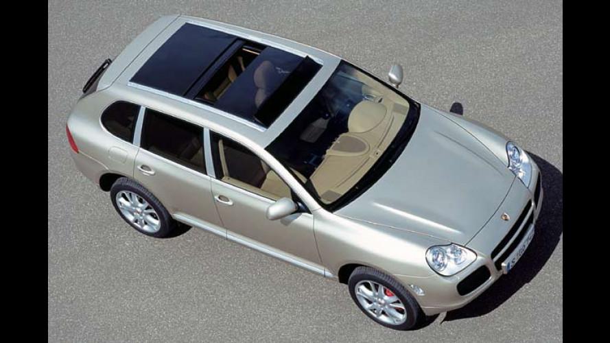 Cayenne: Mehr Power, Panorama-Dach und Rückfahrkamera