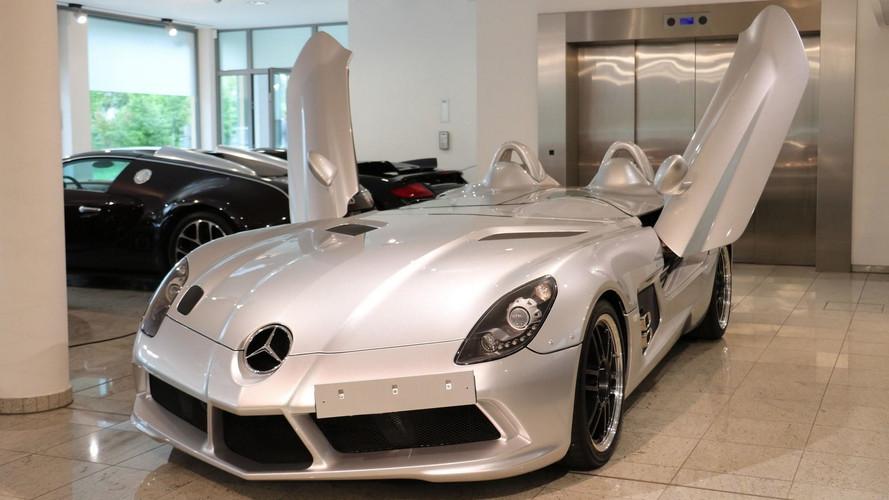 Az kullanılmış Mercedes SLR Stirling Moss rüya gibi