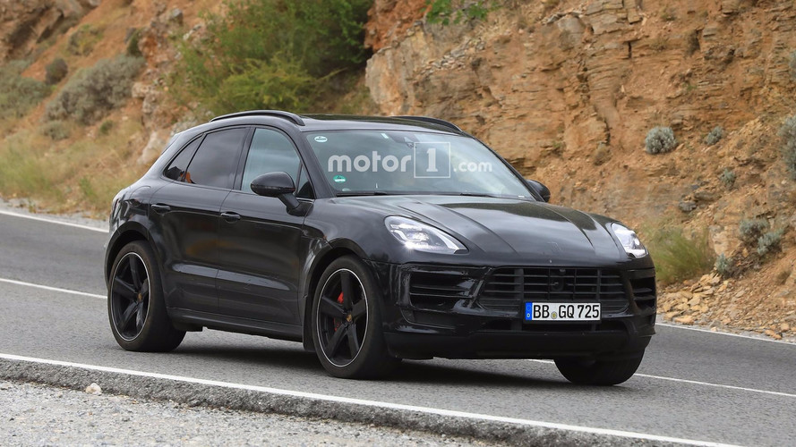 2018 Porsche Macan Facelift Photographed Inside And Out