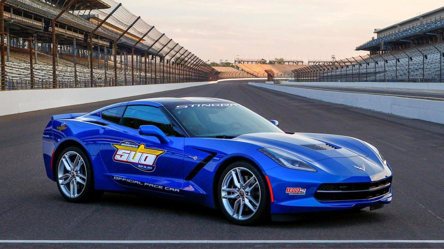 2014 Chevrolet Corvette Stingray will be Indy 500 Pace Car