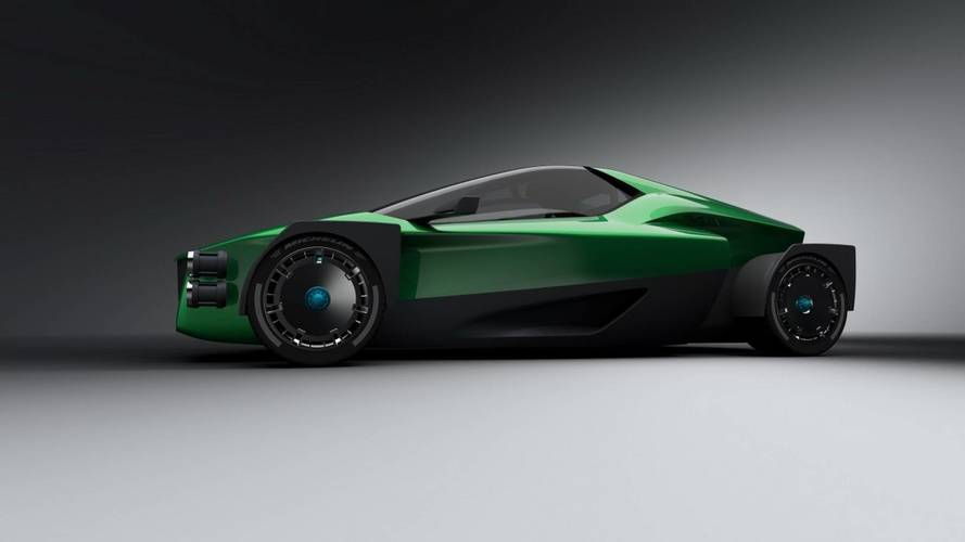 1,341 bg'lik elektrikli süper otomobil, Tesla Roadster'dan daha hızlı