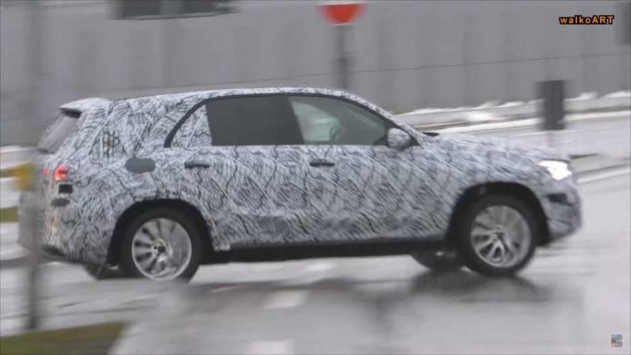 2019 Mercedes-Benz GLE-Class Kamuflajlı Olarak Görüntülendi