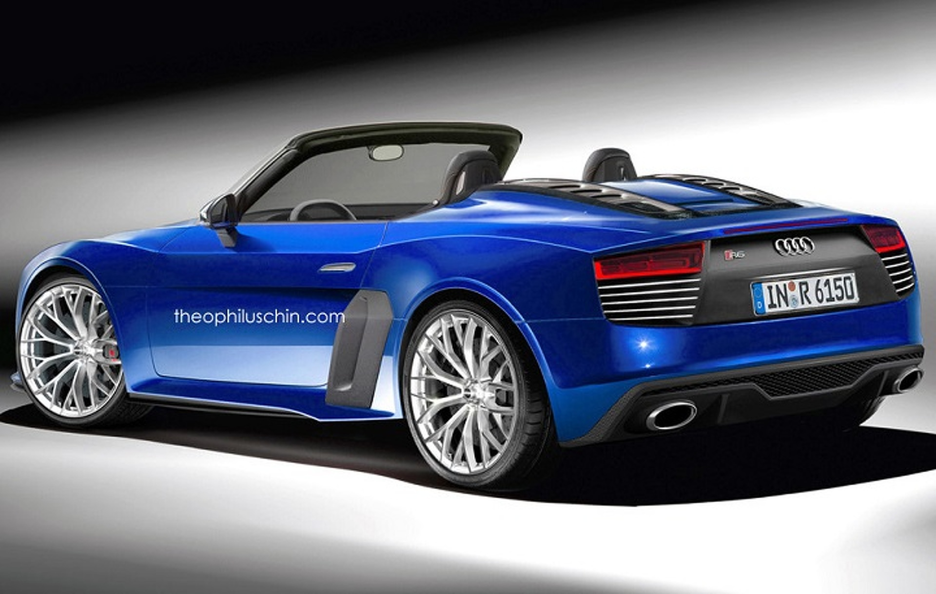 Audi R6 Concept Rendering Gives a Glimpse of the Future
