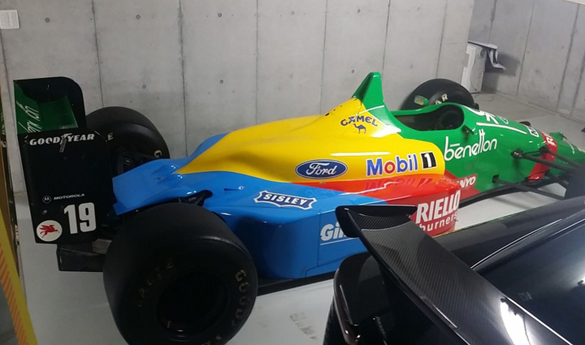 Nannini's Benetton F1 B188 Car is Up for Grabs