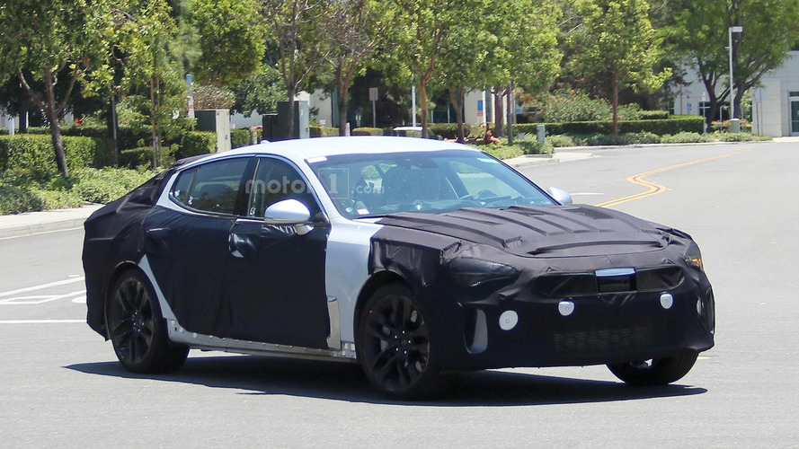 Production Kia GT spied for the first time, could arrive in 2018