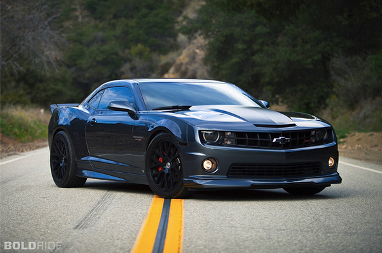 Wheels Wallpaper: 2010 Chevrolet Camaro SS