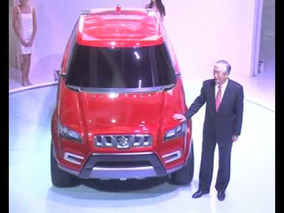 Unveiling of First Compact SUV Concept - XA Alpha at Auto Expo 2012