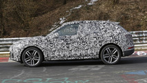 2017 Audi Q5 spied stretching out at the Nürburgring