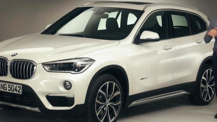 BMW X1 exterior and interior detailed in walkaround video