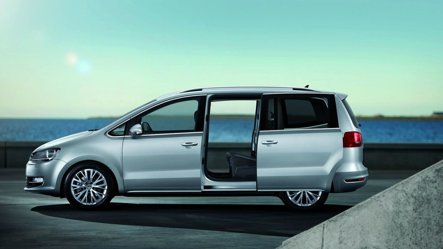 Volkswagen Sharan Pricing Announced in Germany