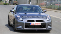 2012 Nissan GT-R facelift spy photos, Nurburgring, Germany, 29.06.2010