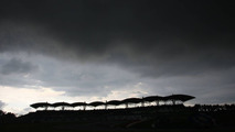 Dark clouds over the circuit, Malaysian Grand Prix, Sunday, 05.04.2009 Kuala Lumpur, Malaysia