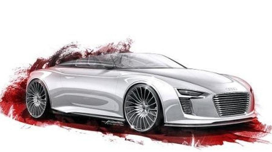 New Audi e-Tron Spyder concept renderings