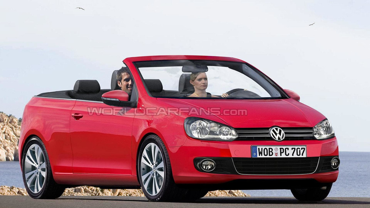 2012 Volkswagen Golf Cabrio artist rendering, 1600, 21.10.2008