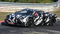 McLaren P11 Spied on Nurburgring