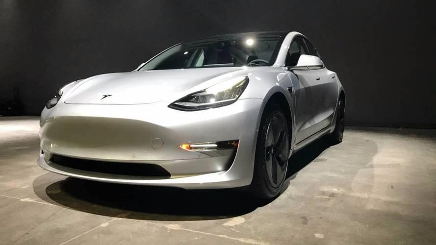 Annonce première Tesla Model 3 d'occasion