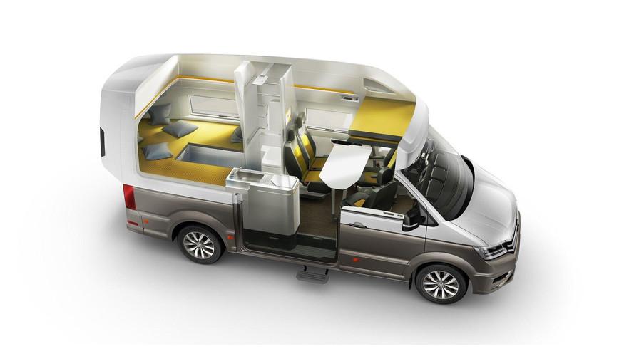 Volkswagen Caliifornia XXL konsepti detaylandırıldı