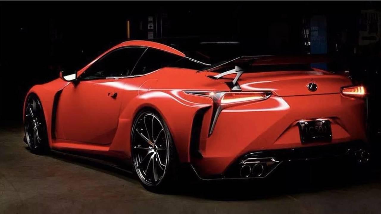 Lexus LC 500 Supreme Carmine Red