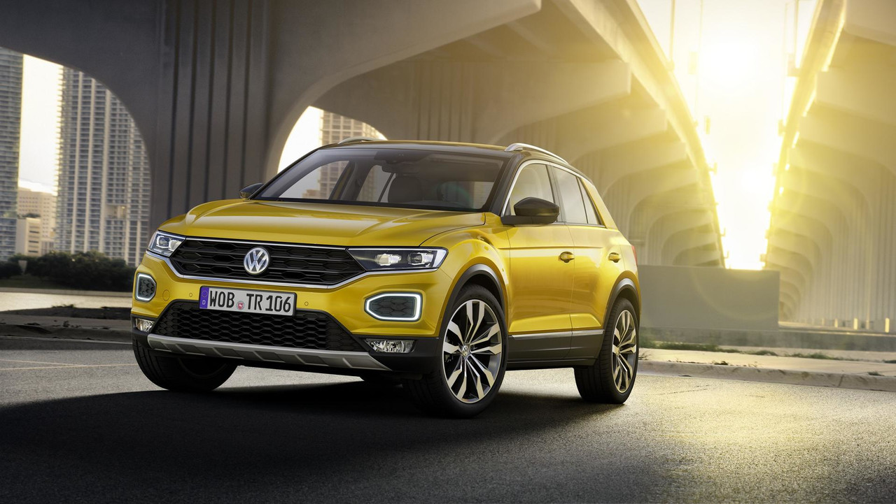 volkswagen reveals new t roc suv. Black Bedroom Furniture Sets. Home Design Ideas