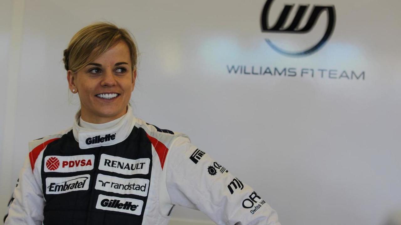 Susie Wolff - Williams F1 team reserve driver