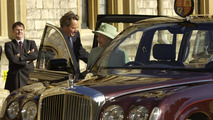 Queen's Bentley State Limousine 05.07.2013