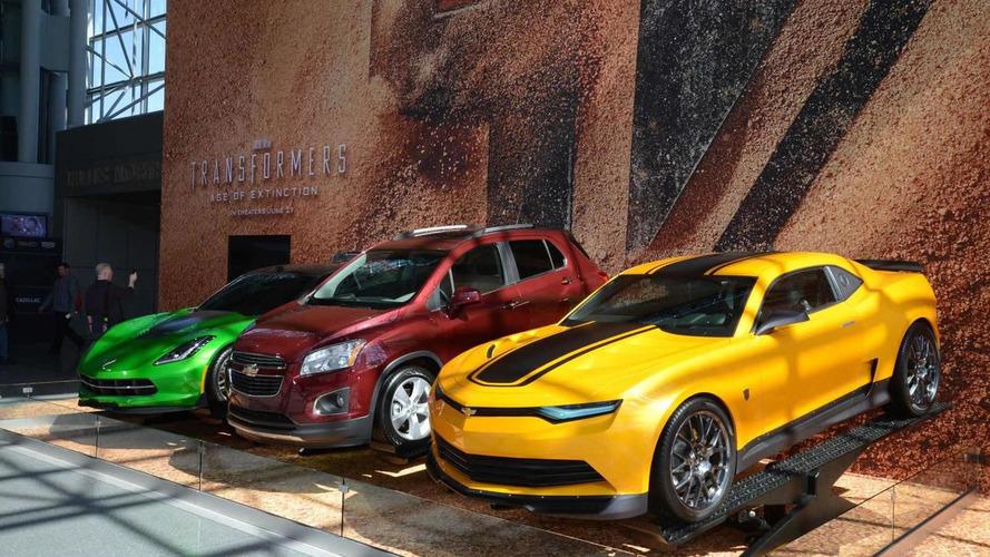 Chevrolet unveils Transformer 4's Autobots in New York