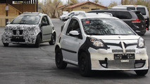 2014 Smart ForTwo mule spy photo