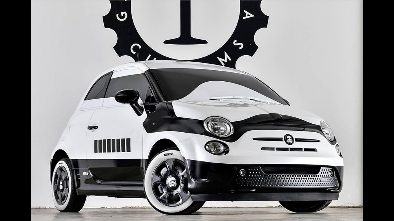 Garage Italia Customs Fiat 500e Star Wars