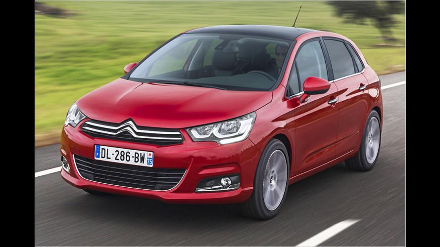 Frische Motoren: Citroën hat den kompakten C4 erneuert