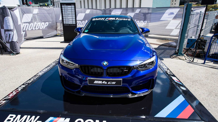 Top MotoGP Qualifier To Win This BMW M4 CS