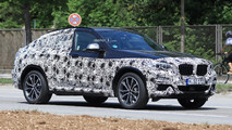 New BMW X4 spy photo