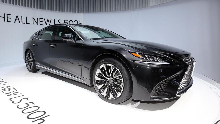 Lexus Trademark Divulges LS Fuel Cell Concept