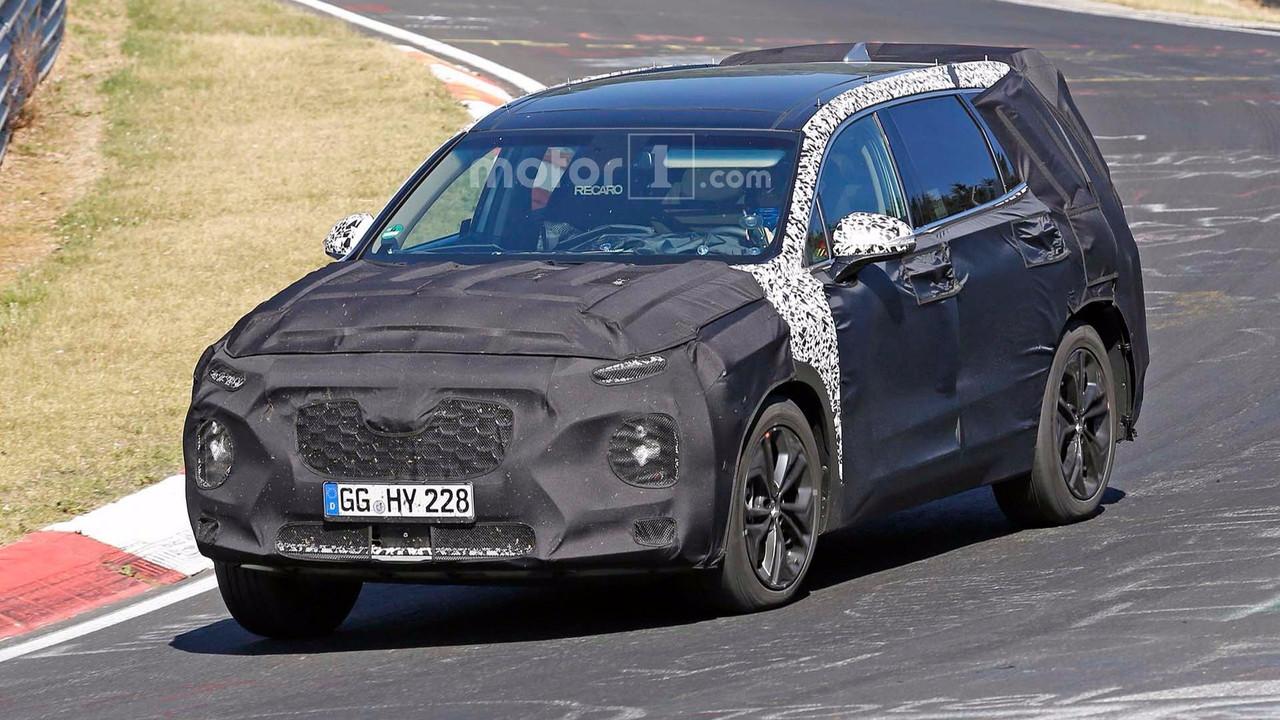Hyundai Santa Fe Spy Photo