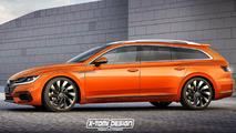 VW Arteon station wagon tasarım yorumu
