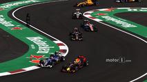 Daniel Ricciardo, Red Bull Racing RB12, Felipe Nasr, Sauber C35